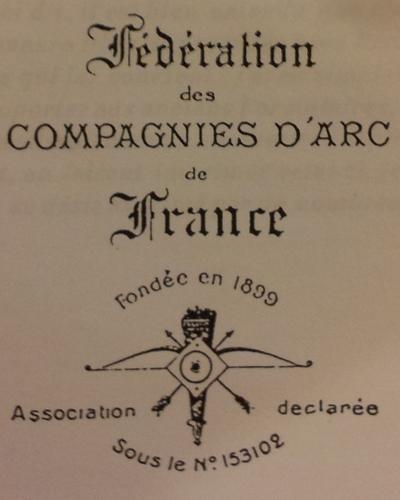 logo fédération des compagnies d'arc de france